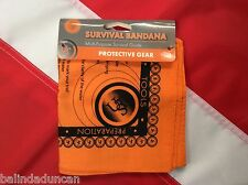BANDANA Survival guide bugoutbag disaster camp prepper GIFT stocking stuffer UST