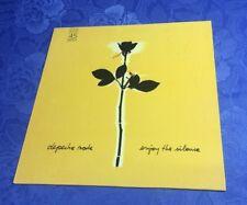 """DEPECHE MODE (12""""MAXI) ENJOY THE SILENCE [ORIG 1990 GERMAN MUTE 4-SONG 45RPM] EX"""
