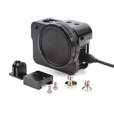 Aluminium Protective Case Skeleton Housing+52MM UV Lens Side Open f GoPro Hero 5