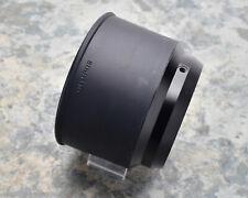 Genuine Olympus OM 135 f/4.5 Macro 55mm Rubber Lens Hood Japan (#3901)