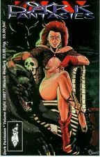 Dark Fantasies # 8 (sampler with mystery/horror stories) (USA, 1996)