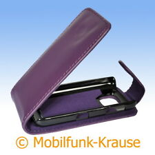 Flip Case Pouch Mobile Phone Pouch Case for Nokia Asha 311 (Purple)