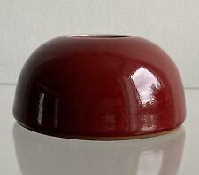 More details for chinese antique porcelain flame red ceramic jar
