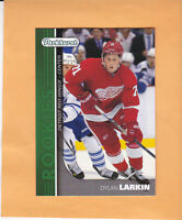 2015 16 UPPER DECK PARKHURST ROOKIES #PR-4 DYLAN LARKIN DETROIT RED WINGS