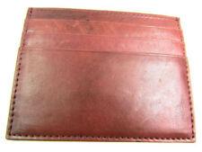 Porte-monnaie et portefeuilles enveloppes marrons en cuir pour femme