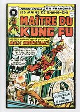 FRENCH COMIC FRANÇAIS EDITION HERITAGE CANADA  MASTER MAITRE KUNG FU  #  21