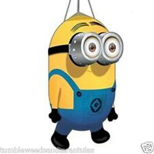 Windsock Kite Tail Despicable Me Minion Dave + Free Metal Swivel Hook