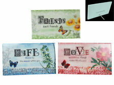Unbranded Floral Decorative Plaques & Signs