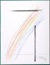 Man Ray : Invasion de l'Espace  1975 Original lithograph