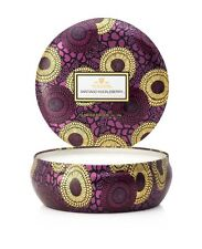 VOLUSPA Japonica 3 Wick Candle in Tin - Santiago Huckleberry 12oz (340g)