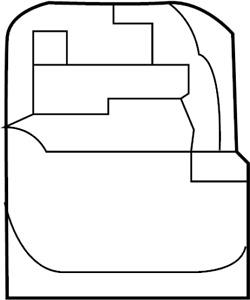 Nissan/INFINITI 284G3-6FL2A Lane Departure System Camera.