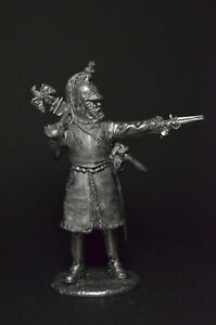 Tin soldier figurine Officer of the 3rd cuirassier regiment 1812 54 mm