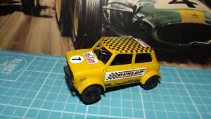 SCALEXTRIC MINI 1275GT Car With New Rear Tyres !