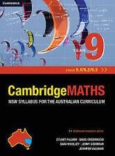 Year 9 Cambridge Maths (NSW Mathematics Syllabus Stage 5.1 / 5.2 / 5.3)
