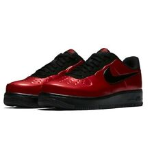 Nike AF1 Air Force One Foamposite Pro Cup Shoes AJ3664 601 Red Black Sz 10