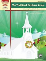 Traditional Christmas Service : 10 Inspiring Piano Solos for Church Pianists Pap