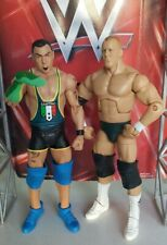 WWE MATTEL SERIES SANTINO MARELLA RINGMASTER STONE COLD SET OF TWO FIGURES