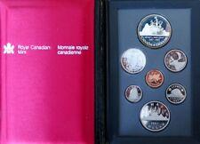 0209 - COFFRET CANADA 1987 - 7 pièces : 1 cent à 1 dollar
