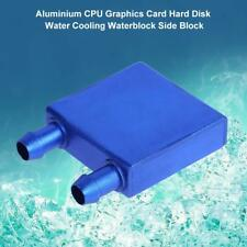 40x40x12mm CPU Graphics Card Hard Disk Water Cooling Waterblock Heatsink Block