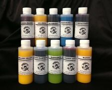 Snow Cone Syrup Flavor Mix Concentrate Shaved Ice Kone Mix  *** 10 PACK****