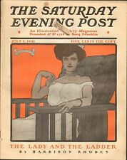 JULY 8 1905 SATURDAY EVENING POST - magazine - GUERNSEY MOORE - NECKLACE