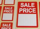 Rojo PROMOCIONAL PUNTO DE sale precio venta Pegatinas Adhesivas Swing Etiquetas