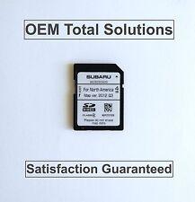 2014 Subaru Forester Genuine OEM Navigation SD CARD Map Data US Canada #SG620