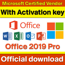 Microsoft Office 2019 Professional Plus Offical Key Code - Instant delivery