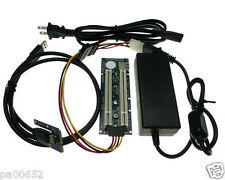 Mini PCIe to 2 PCI 32bit slot Converter with Power Adapter mPCIe to Dual PCI