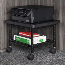 Safco Under Desk Printerfax Stand 300 Lb Load Capacity 135 Height X 19
