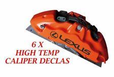 LEXUS Brake Caliper Decal   sticker