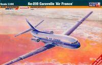 SUD-AVIATION SE 210 CARAVELLE (AIR FRANCE, AEROFLOT, AUSTRIAN) 1/144 MISTERCRAFT