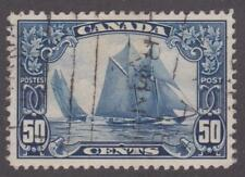"Canada 1929 #158 KG V ""Scroll"" Issue (Bluenose) - Used VF (002)"
