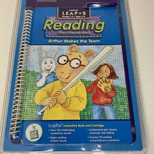LeapFrog LeapPad 2 Reading Arthur Makes The Team Grade 1-3 Ages 6-8 Interactive