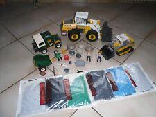 playmobil gros lot de vehicules (nature) + personnages et divers elements
