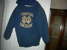 Notre Dame Fighting Irish Hooded Winter Ski Jacket,REAL HEAVY and REAL  WARM