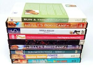 $2-$3 Fitness DVD's You Pick Choose Buy More Save More Updated 8/01