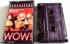 Bananarama - Wow -1987  0z - cassette