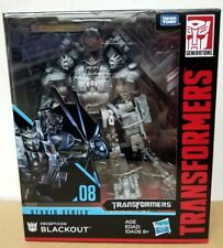Transformers Studio Series 08 Blackout Decepticon Leader Class Action Figure USA