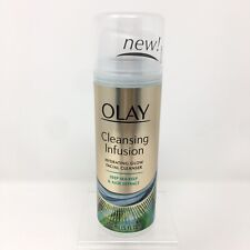 Olay Cleansing Infusion Hydrating Glow Facial Cleanser Deep Sea Kelp Aloe 5oz
