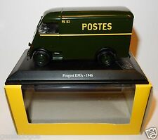 NOREV PEUGEOT DMA 1946 POSTES POSTE PTT 1/43 in luxe BOX