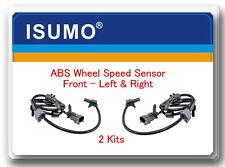 2 ABS Wheel Speed Sensor Front Left & Right Fits: GM General Motors Isuzu Saab