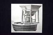 Pesatore-saggiatore Pagliani - Contatore del peso Incisione del 1876