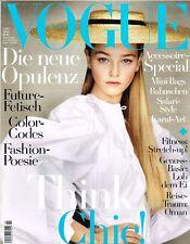 b312b60698 Vogue Magazine Germany May 2017 Irina Shayk Kate Moss Lara Stone Sara Grace
