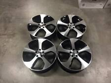 "18"" VW Austin Style Alloy Wheels Gloss Black Machined Golf MK5 MK6 MK7 Audi A3"