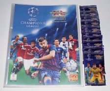 Panini Adrenalyn Champions League 11/12 Mappe + 10 OVP Booster 2011/12