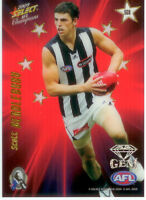 2009 Select AFL Champions Stars Red Gem Card SG8: Scott Pendlebury (Collingwood)