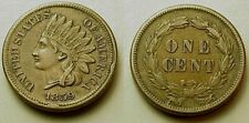 SHARP XF/AU 1859 INDIAN HEAD CENT-NICELY DEFINED! FIRST YEAR! FREE SHIPPING!
