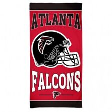 Nfl Large Bath Towel Atlanta Falcons Towel Helmet 59 1/8x29 1/2in Football