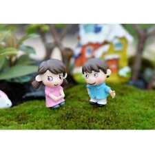 2 Pairs Micro Landscape Mini Resin Bonsai Fairy DIY Garden Decor Lovers